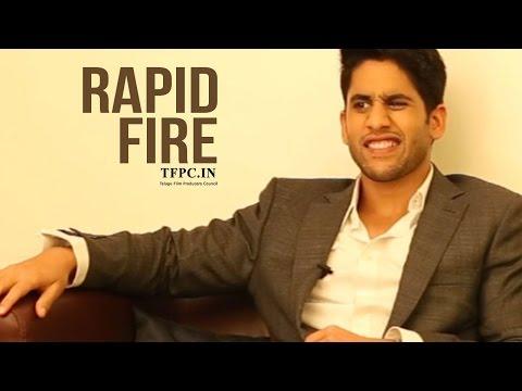 Naga Chaitanya Funny Rapid Fire | Love & Marriage | TFPC