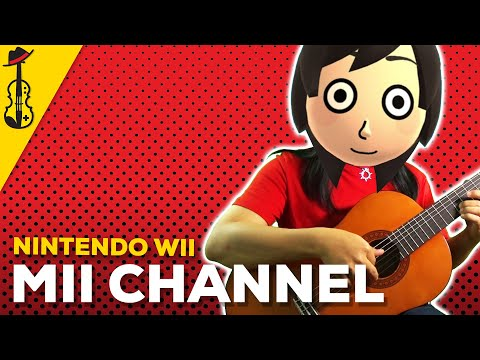 Mii Channel Theme (Violin/Viola/Guitar Jazz Cover) || String Player Gamer
