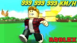 💎 I RUN 999.999.999 KM/H! And ROBLOX #247 💎