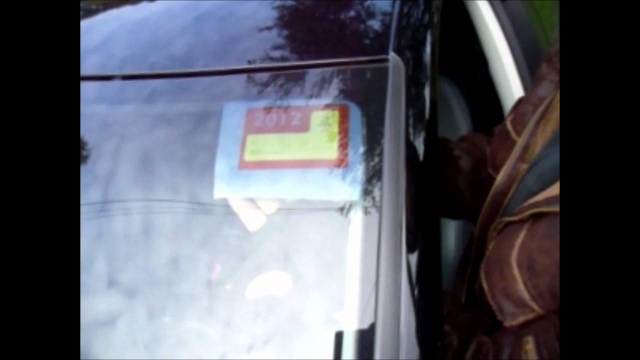 Car sticker inspection - Removing Car Sticker Fast