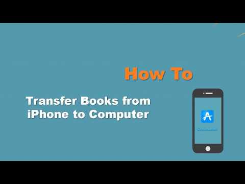 3 Ways] iPhone Book Transfer - How to Transfer Books from