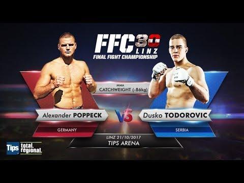 FFC 30: Alexander Poppeck vs. Duško Todorović