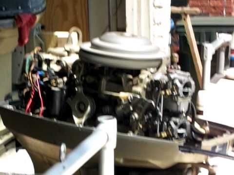 1978 evinrude 55 hp avi youtube for 55 johnson outboard motor