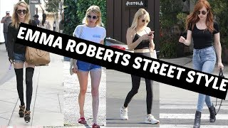 GET THE LOOK- EMMA ROBERTS STYLE STEAL 2017