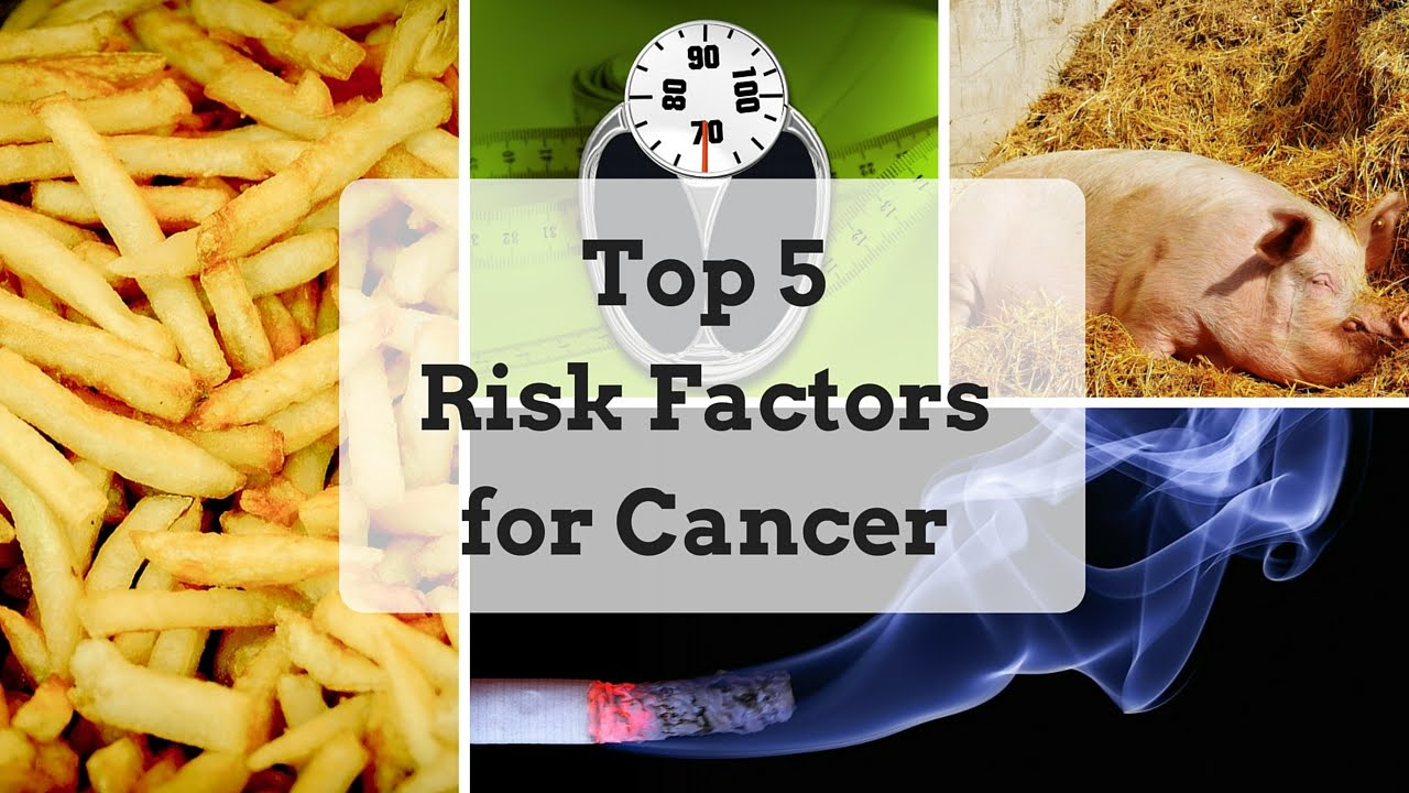 Many cancers associated with modifiable risk factors