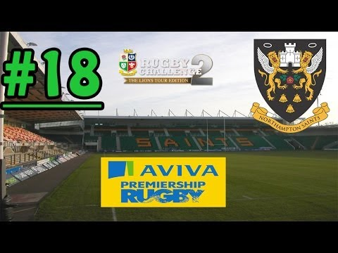 Rugby Challenge 2 - Aviva Premiership '13/14 - Round 18 - Northampton Saints vs Bath