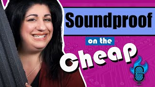 CHEAP DIY Soundproofing for Your Booth!