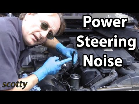 Fixing Noisy Power Steering On Your Car