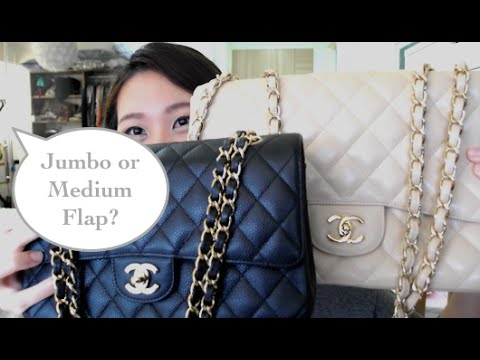 Choosing the Chanel Jumbo or Medium flap