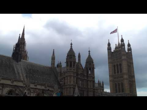 London - Big Ben & Palace of Westminster (Houses of Parliament)