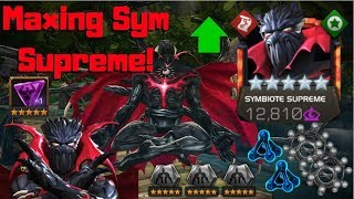 Maxing Sym Supreme! Awakening and Rank 5! - Marvel Contest of Champions