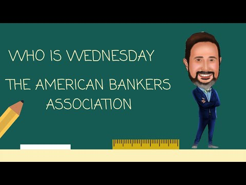Who Is The American Bankers Association