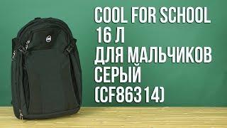 Розпакування Сool For School 43 x 29 x 10 см 16 л Для хлопчиків Сірий CF86314