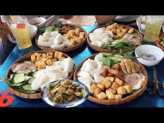 Bún đậu mắm tôm món Miền Bắc hấp dẫn người Sài Gòn