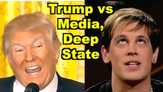 Trump vs Media, Deep State - Milo Yiannopoulos, Bill Maher & MORE! LV Sunday LIVE Clip Roundup 200