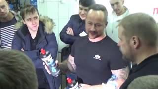 Полировка авто, путешествия немца по городам России - Оренбург, Магнитогорск, Уфа