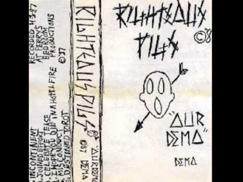 RIGHTEOUS PIGS las vegas,nevada ´´our demo´´ 1987