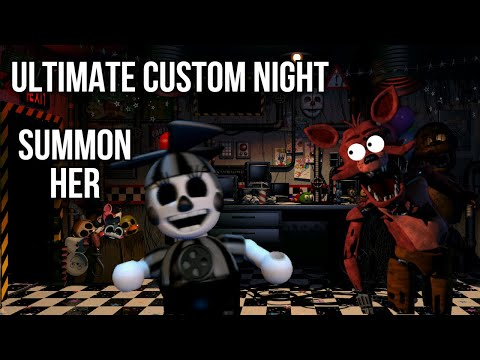Ultimate Custom Night - How To Summon Shadow DeeDee/XOR (PC Only)