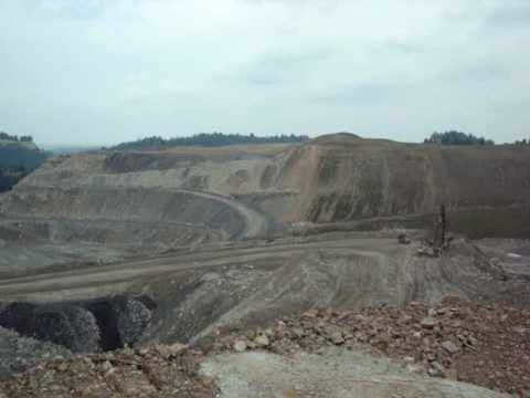 Kayford Mtn, West Virginia Surface Coal Mining Operation