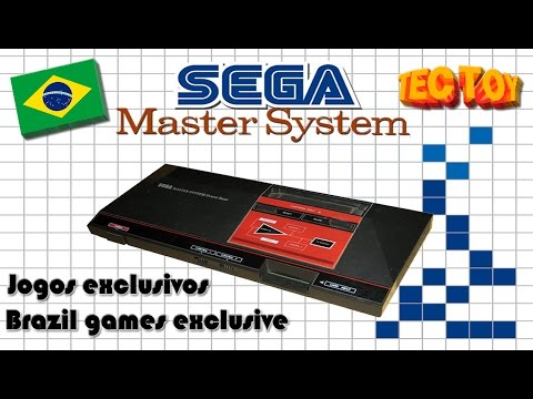 Sega Master System - Jogos Exclusivos do Brasil Tec Toy/Tec toy Brazil Games Exclusive