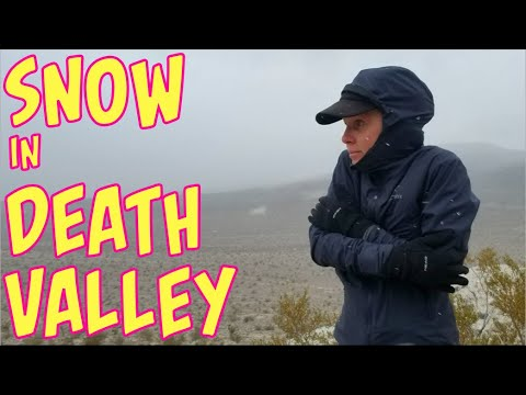 Snow Falling On The Abandoned Viking Mine Camp (Death Valley Solo 4/6)