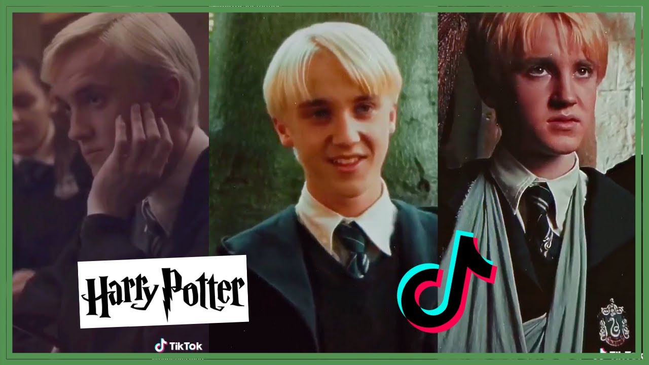 Draco Malfoy Tiktok Compilation Harry Potter Youtube
