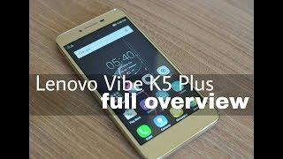 Lenovo Vibe K5 Plus 3GB Ram Full Review in Hindi