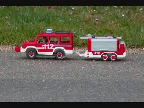 Playmobil pompier youtube - Playmobil samu ...