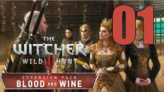 The Witcher 3: Blood and Wine - Gameplay Walkthrough Part 1: Envoys, Wineboys