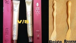 Lakme CC V/S Lakme 9 to 5 CC cream ll# Beige #Bronz ?? ll Janiye koun hai jada acha ll foundastion