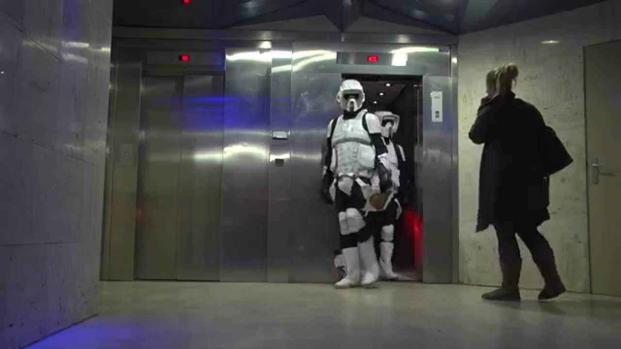 Camera Cachee Star Wars : Star wars prank remi gaillard youtube
