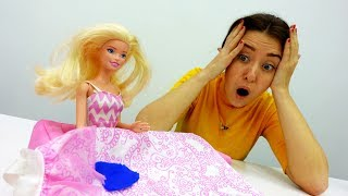 Видео для девочек: Барби испачкала НОВОЕ платье!
