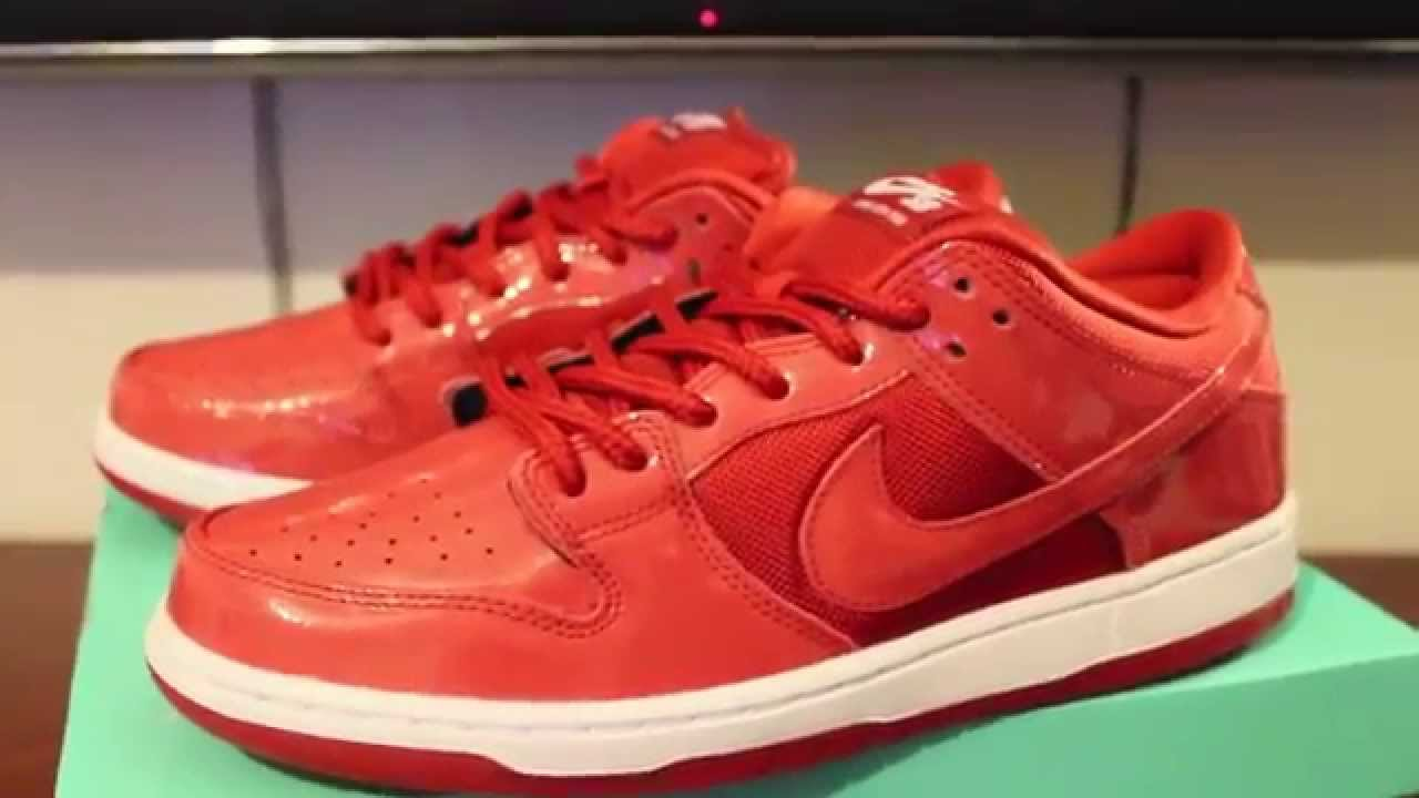online retailer 2b218 c878b Nike SB Pro Red Space Jam Ruby Slippers Review ! HD ! - YouTube