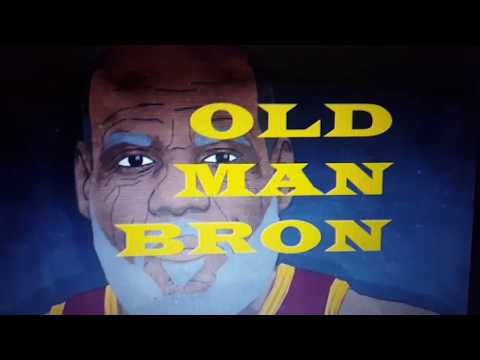 Old Man Bron showed up in Indiana!