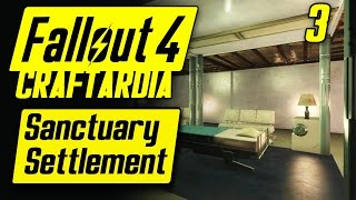 Fallout 4 Sanctuary Settlement 3 - Base Building Timelapse - Fallout 4 Settlement Building PC