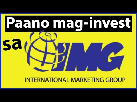 Paano Mag Invest Sa IMG (International Marketing Group)