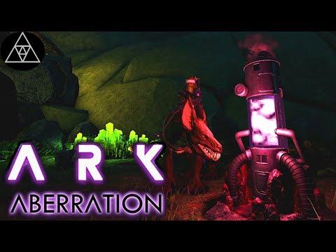 ARK: Aberration #11 ► Stone Cliff Platform + Gemüse Beete! Gas Collector! Gameplay, deutsch