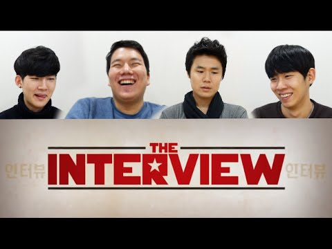 Korean guys react to 'The interview' (Eng Sub)