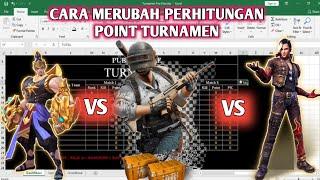 CARA MERUBAH SISTEM POINT TURNAMEN | FREE FIRE | PUBG | MOBILE LEGEND