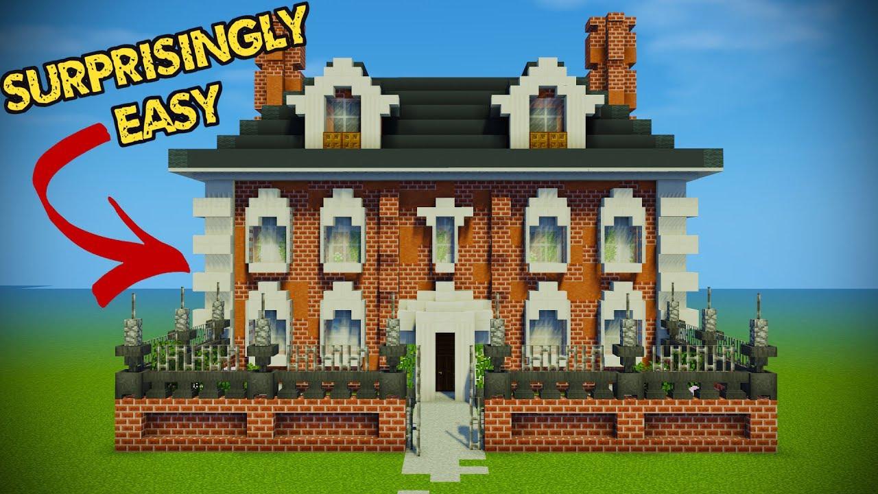 Minecraft Georgian House Tutorial