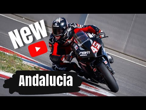 NEW ANDALUCIA TRACK IN SPAIN TESTED BY SCOTT REDDING