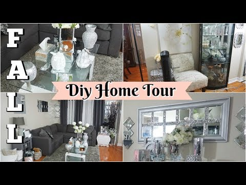 DIY GLAM HOME TOUR FALL 2019 | DIY DOLLAR TREE HOME DECOR