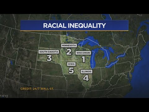 Minn. Ranked 2nd-Worst In U.S. For Racial Equality