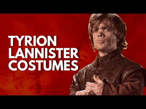 🦁 Tyrion Lannister Costumes