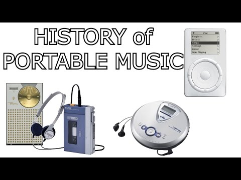 HISTORY OF PORTABLE MUSIC