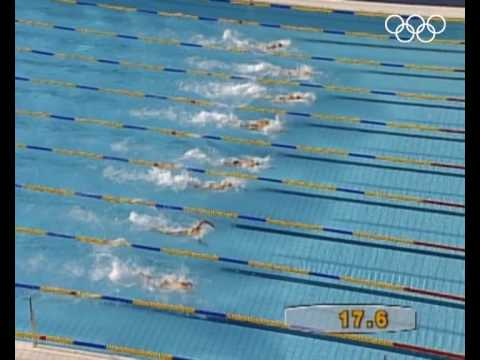 Alexander Popov Wins Men's 50M and 100M Freestyle Gold - Barcelona 1992 Olympics