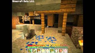 Тихое приключение Саймона в пещерах minecrafta!