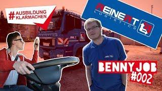 BennyJob | Episode #002 - Berufskraftfahrer bei Reinert Logistics