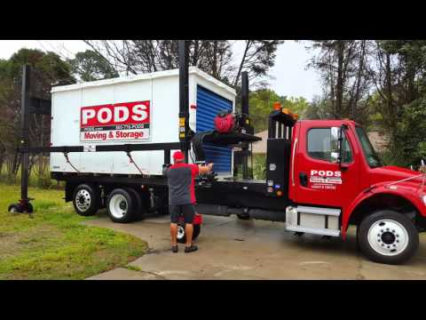 PODS pickup and Delivery