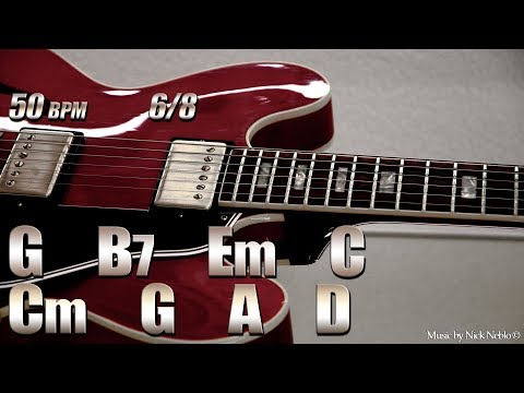 Slow Classic Ballad Backing Track G Major